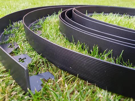 Garden Edging Lawn Edge 10m + 50 Strong Pegs Flexible
