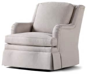 jessica charles chad swivel rocker adell linen fabric
