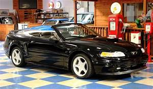 2000 Ford Mustang GT Convertible ProCharger – Black – A&E Classic Cars