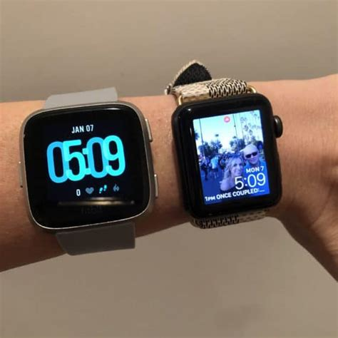 fitbit versa vs apple which one is worth your money