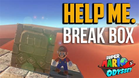 Super Mario Odyssey  How To Get On The Eastern Pillar