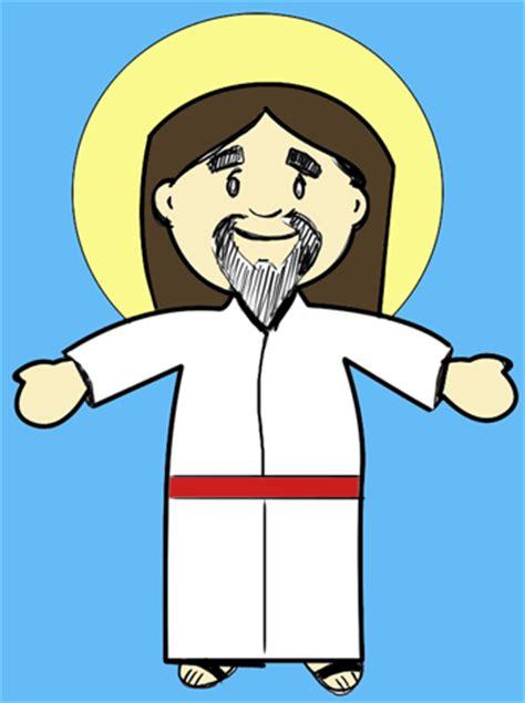 draw cartoon jesus christ  easter step  step