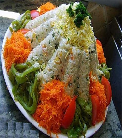 decoration de salade marocaine d 201 co salade أجمل تزيين السلطات liknti forum منتدى المرأة المغربية