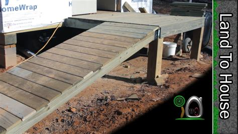 porch  ramp build  workshop  youtube