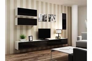 Meuble Sous Tv Suspendu : meuble tv design suspendu fino chloe design ~ Teatrodelosmanantiales.com Idées de Décoration