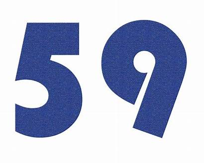 59 Number Count Mathematical Measure Object Label