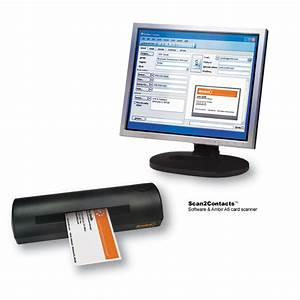 Ambir technology announces only solution to scan business for Business card scanner to outlook