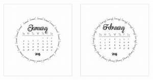 Mini Kalender 2015 : the pretty calendar updated for 2015 kalender projektideen und anleitungen ~ Watch28wear.com Haus und Dekorationen