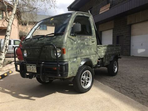 Mitsubishi Mini Trucks For Sale by 1992 Mitsubishi Minicab Kei Mini Truck For Sale