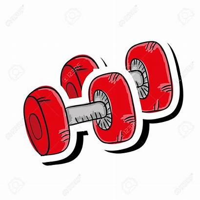 Clipart Equipment Gym Exercise Dumbbell Clipground Station