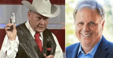 poll  democrat  big lead  roy moore