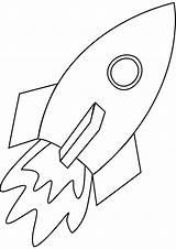 Coloring Spaceship Netart sketch template