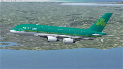 Aer Lingus Airbus A380-800 for FSX