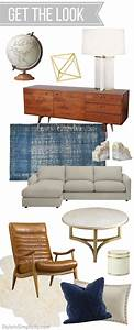 Get The Look Mid Century Modern Inspired Living Room ...
