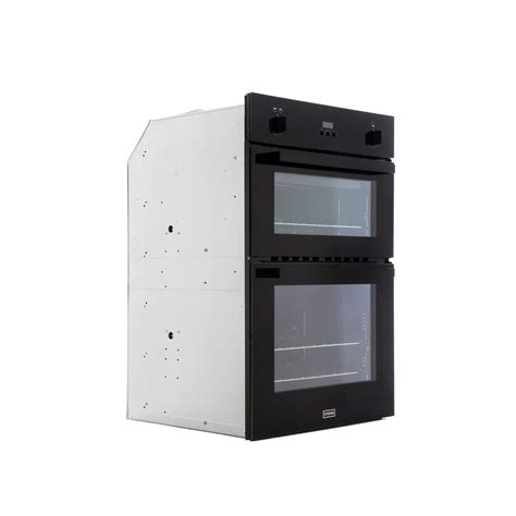Buy Stoves SGB900PS Black Double Built In Gas Oven