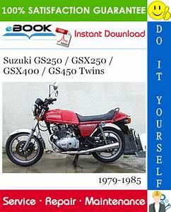 Download Repair Manual Suzuki Gs450  Service Manual
