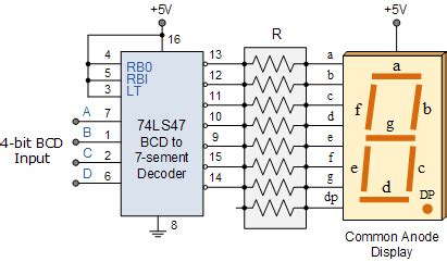 Bcd Counter Circuit Using The Decade