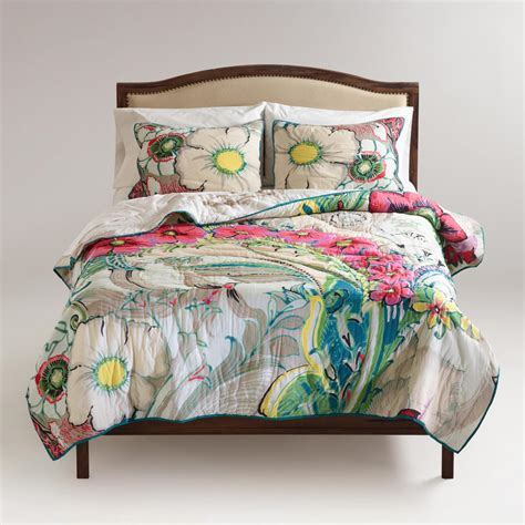 34398 world market bedding gemma reversible bedding collection world market