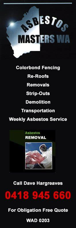 asbestos masters wa asbestos removal mandurah
