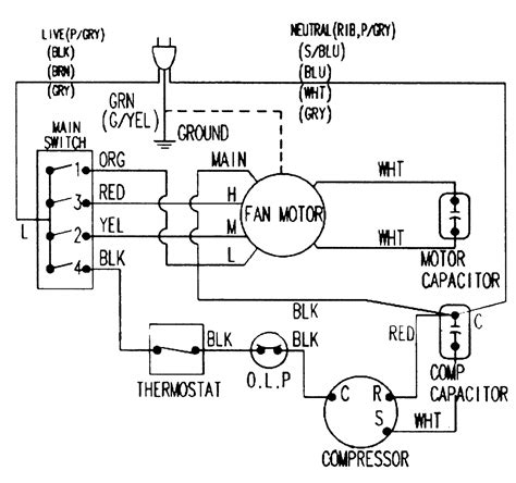 Lg Aircon Wiring Diagram by Lg Window Ac Wiring Diagram Wellread Me