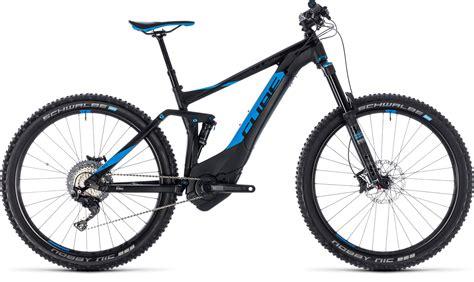 cube e mountainbike 2018 cube stereo hybrid 140 sl 500 27 5 black 180 n 180 blue 2018