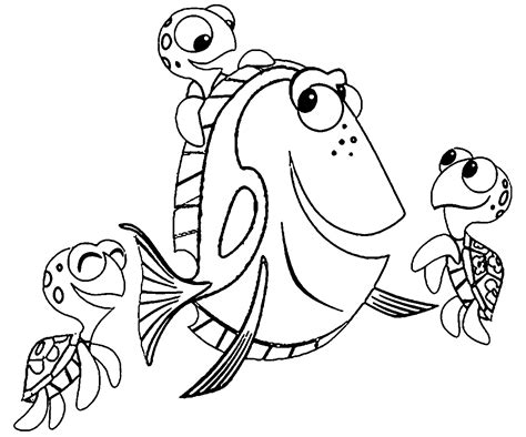 finding nemo coloring pages coloringsuitecom