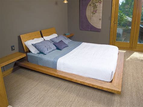 How To Build A Platform Bed by How To Build A Custom Platform Bed Frame With Cantilever