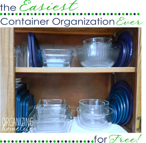 Organization Containers by The Easiest Way To Organize Food Storage Containers
