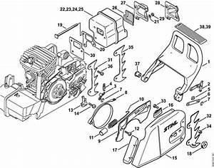 Stihl 029 Super Parts Diagram