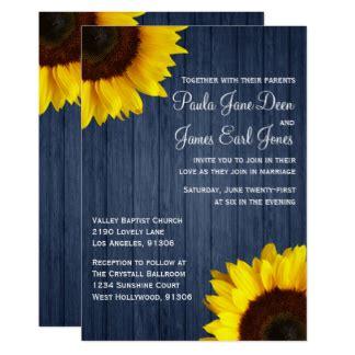 sonnenblume einladungen zazzlede