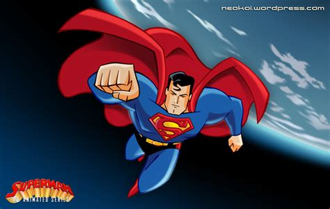 Superman Animated Wallpaper - superman the animated series digital by neokoi on
