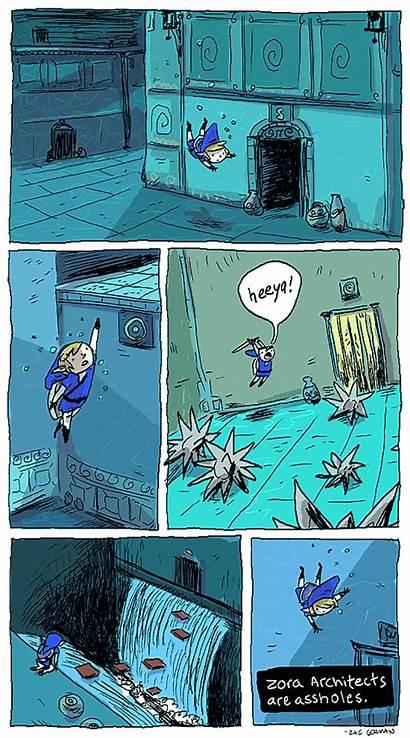 Zelda Gorman Zac Comics Legendary Animated Legend