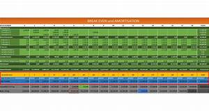 Umsatz Berechnen Excel : break even und zeitpunkt der amortisation mit einem excel template ermitteln fischerberger ~ Themetempest.com Abrechnung