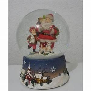 Boule De Neige Noel : boule neige musicale p re no l vente de boules ~ Zukunftsfamilie.com Idées de Décoration