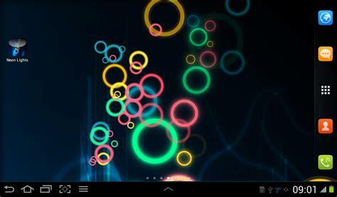 Neon Light Live Wallpaper neon lights live wallpaper free android live wallpaper