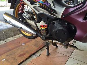 Racing Exhaust System For Honda Wave125    Supra 125