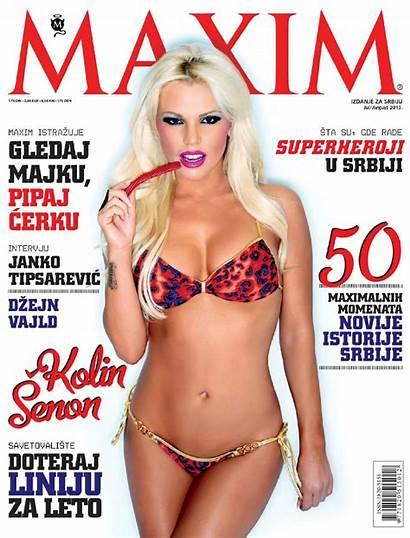 Maxim Shannon Colleen Kolin Magazine Serbia Senon