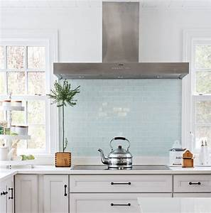 modern backsplash ideas eatwell101 With kitchen colors with white cabinets with thin blue line window sticker