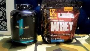 Mutant Whey Protein Vs Rule1 Whey Blend