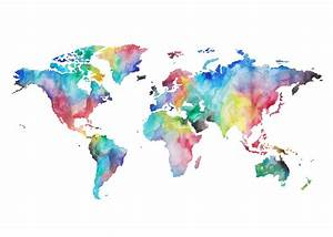 Water Colour World Map Google Search Wallpaper