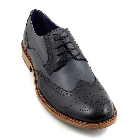 wing boots for sale mens black grey derby brogues gucinari mens shoes