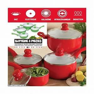 Cuisine Prix Discount : batterie de cuisine c ramique 8 pi ces prix discount ~ Edinachiropracticcenter.com Idées de Décoration