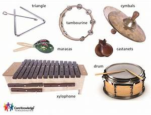 Image Gallery instruments and their families