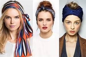 Comment Attacher Ses Cheveux : 10 fa ons de nouer un foulard dans ses cheveux ~ Melissatoandfro.com Idées de Décoration