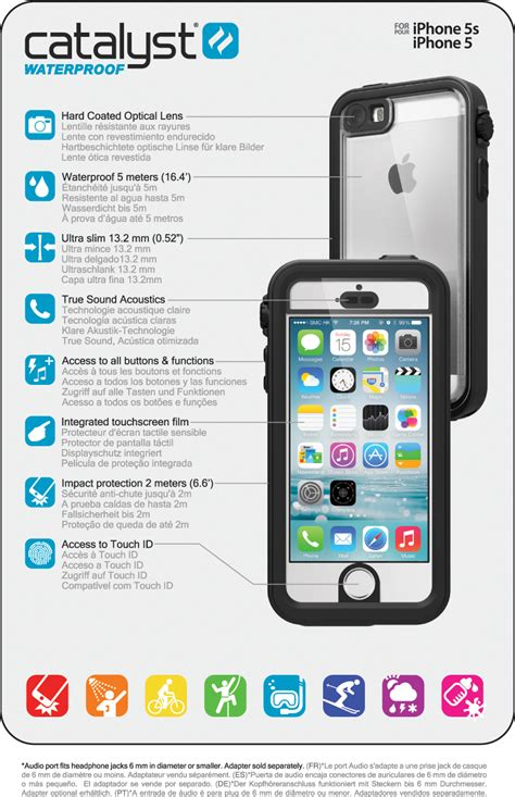 iphone 5s specs catalyst 174 for iphone 5 5s technical specifications