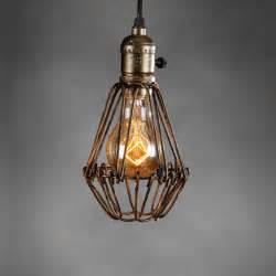 retro vintage industrial l covers pendant trouble light