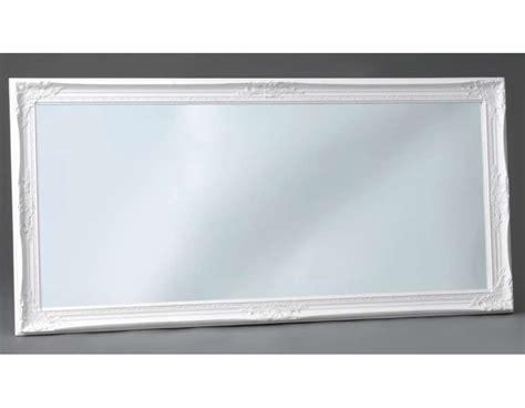 miroir personnalise avec photo miroir romantique blanc 154 cm avec moulures 54 cm