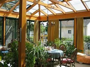 Beschattung Wintergarten Innen : holzwintergarten wintergartenkonstruktionen aus holz von alco ~ Frokenaadalensverden.com Haus und Dekorationen
