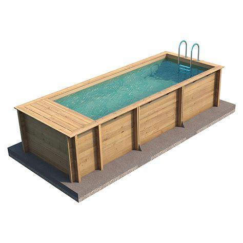 pool mit kompletteinbau mypool massivholzpool pool n the box l x b x h 626 x 253 x 133 cm 12 200 l 8326 pool