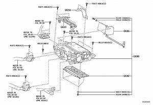 2016 Toyota Prius Drive Motor Inverter Bracket  Assy
